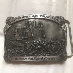 Caterpillar Accessories - VTG Caterpillar Tractor Ltd Edition Belt Buckle